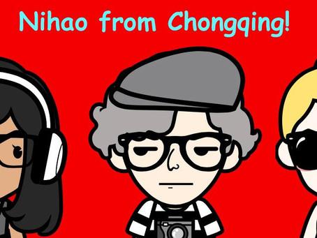 Dreharbeiten in Chongqing