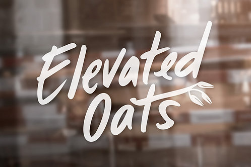 "5"" Elevated Oats Decal"