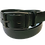 """Thumbnail: Black Brass buckle on black leather 1.25"""" or 32mm wide"""