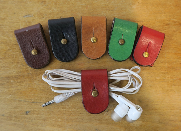 Bath Leather Goods cable tidy colour range