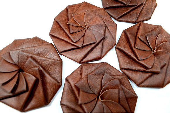 Bath Leather Goods Clever Coin Purses