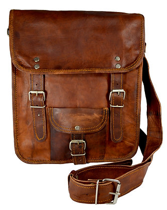 "13"" Long Leather Satchel 13LSWP"