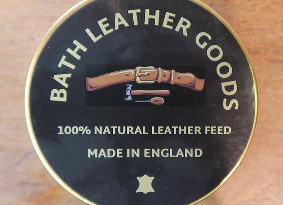Bath Leather Goods Natural Leather Feed tin