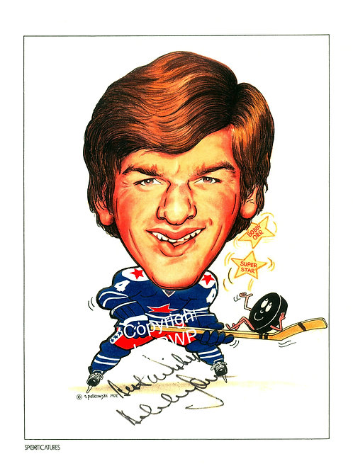 Sporticatures Bobby Orr A