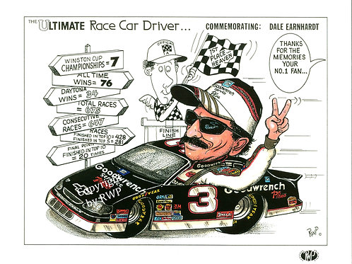 The Ultimate Race Car Driver