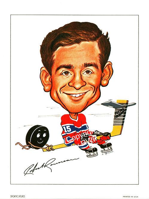 Sporticatures Bob Rousseau MC