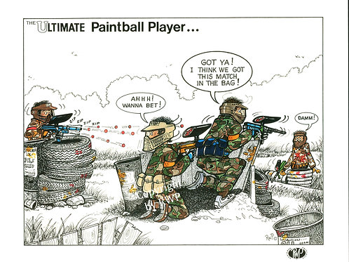 The Ultimate Paintball Player