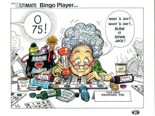 The Ultimate Bingo Player