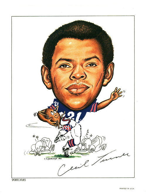 Sporticatures Cecil Turner