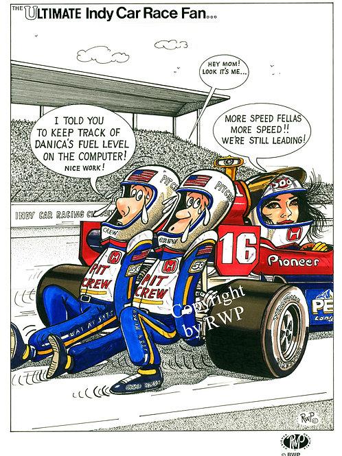 The Ultimate Indy Car Race Fan