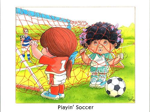 Playin' Soccer