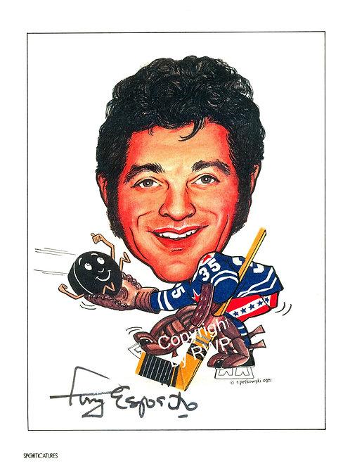Sporticatures Tony Esposito A