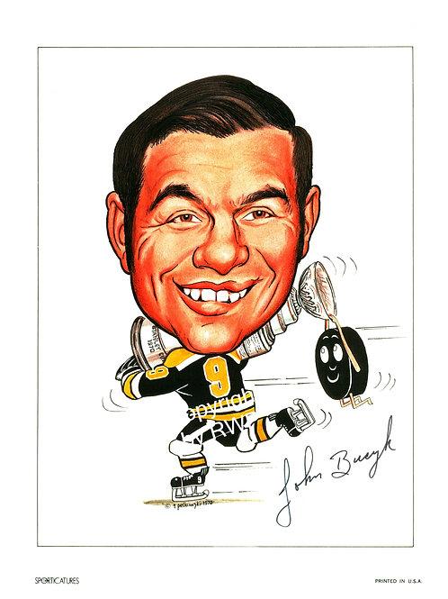 Sporticatures John Bucyk