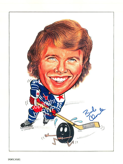 Sporticatures Bobby Clarke AS