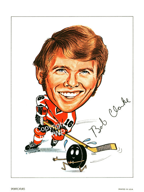 Sporticatures Bobby Clarke PF