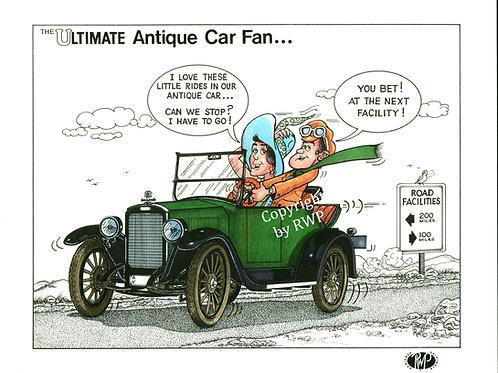 The Ultimate Antique Car Fan