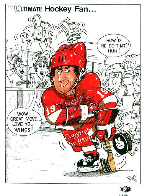 The Ultimate Hockey Fan D1