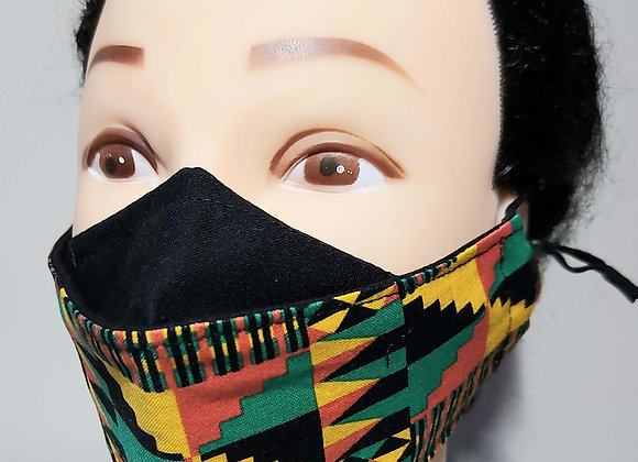 BHM 3D Face Mask with Filter Pocket