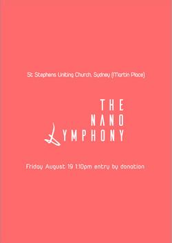 THE NANO SYMPHONY live