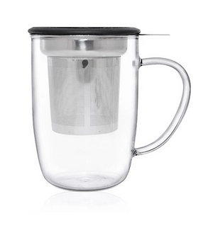 Glass Infuser Mug - 450ML