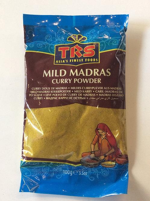 Mild Madras Curry Powder 100g