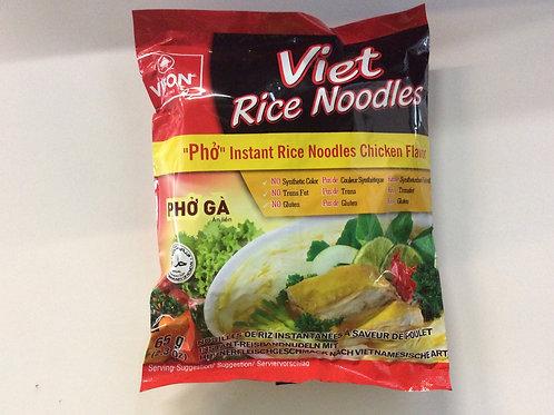 Instant Viet Rice Noodles - Chicken Flavour - 65g