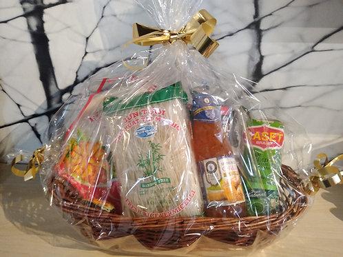 "Combo ""Loempia's met Rijst Vermicelli - Bun Cha Gio""(Vietnamese Cuisine)"
