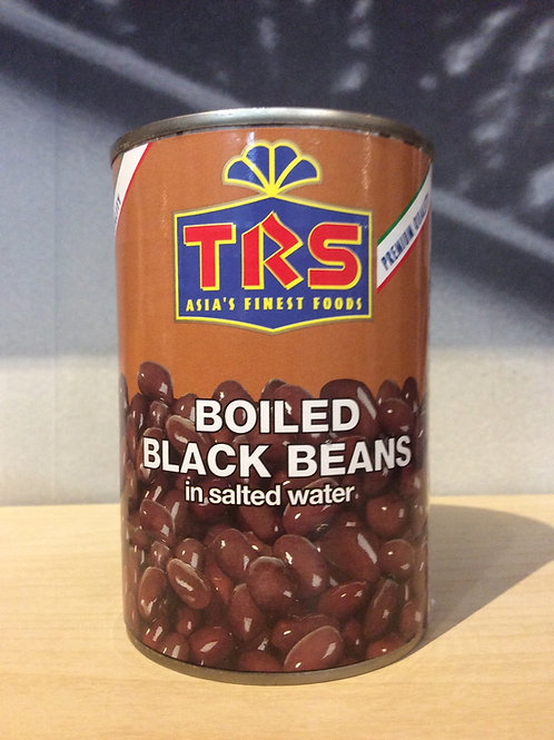 Boiled Black Beans in Salted Water 400g