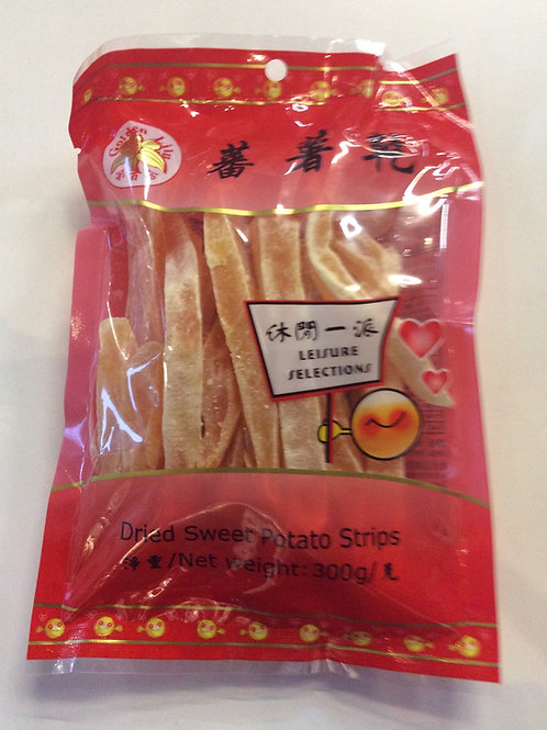 Dried Sweet Potato Strips 300g