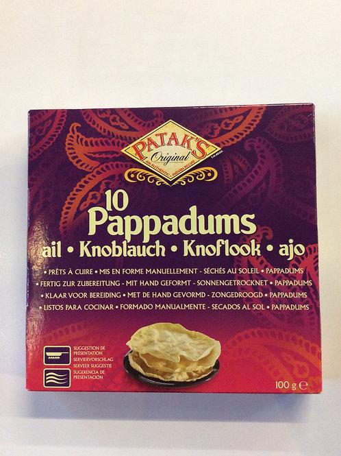 Pappadums 100g