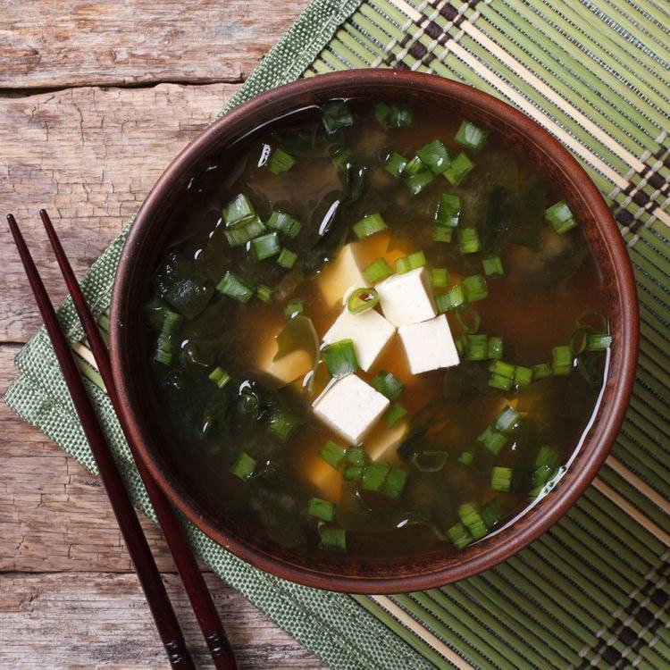 Tofu Miso Soep (Súp Rong Biển Đậu Hủ