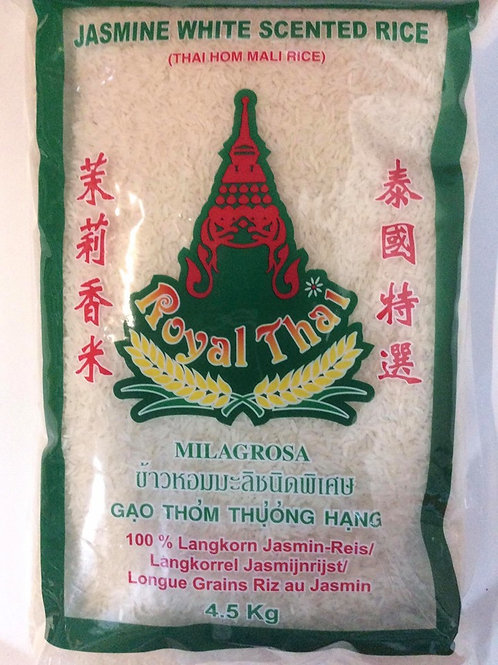 Jasmijn Rijst New Crop 2020 - Royal Thai 4.5/10/20kg