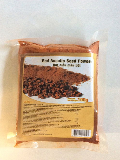 Red Annatto Seed Powder 100g