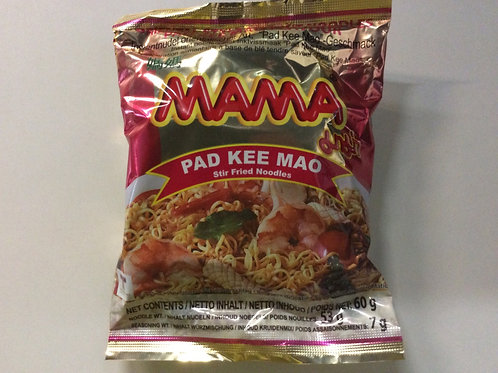 Instant Noodles - Pad Kee Mao Flavour - Mama - 60g
