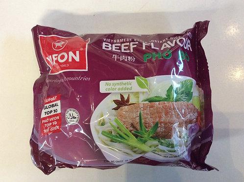 Vietnamese Style Instant Rice Noodles Beef Flavor 60g