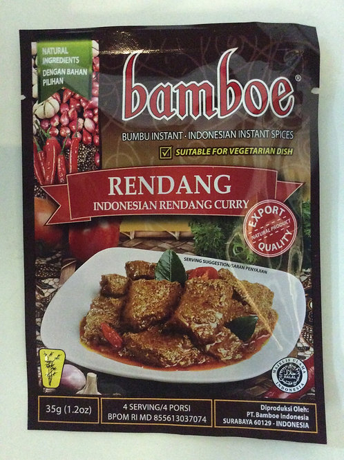 Indonesian Rendang Curry Spices 35g