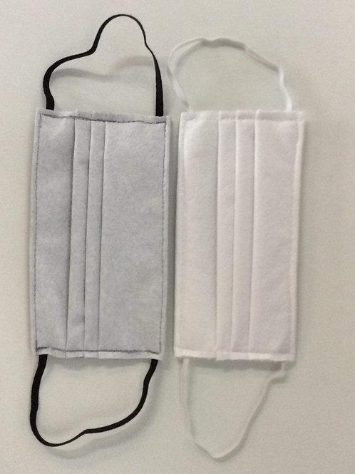 Handgemaakte 2-laag mondmasker