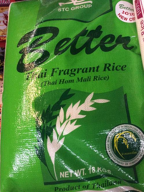 Thai Fragrant Rice 18kg