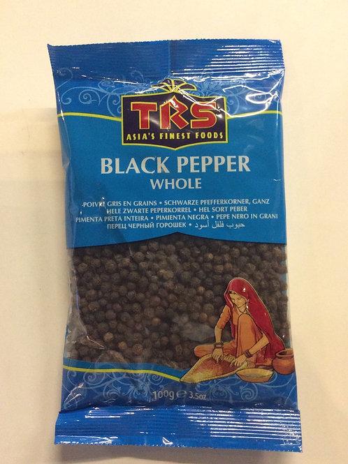 Black Pepper Whole 100g