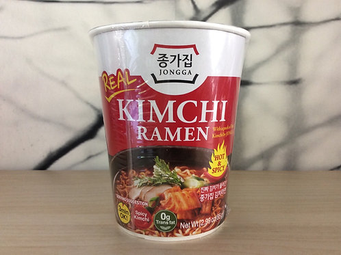 Instant Noedels REAL Kimchi Hot & Spicy - Cup 85g