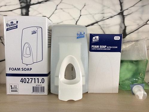 Set Handzeep + Dispenser 800ml