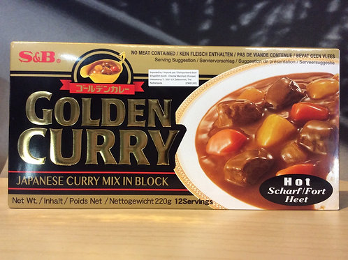 Japanese Curry Mix Block 220g - Hot