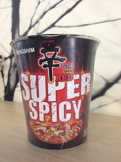 Nongshim Shin Super Spicy Red 68 gram