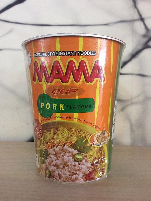 Mama Pork Flavour Cup Noodles 70 gram