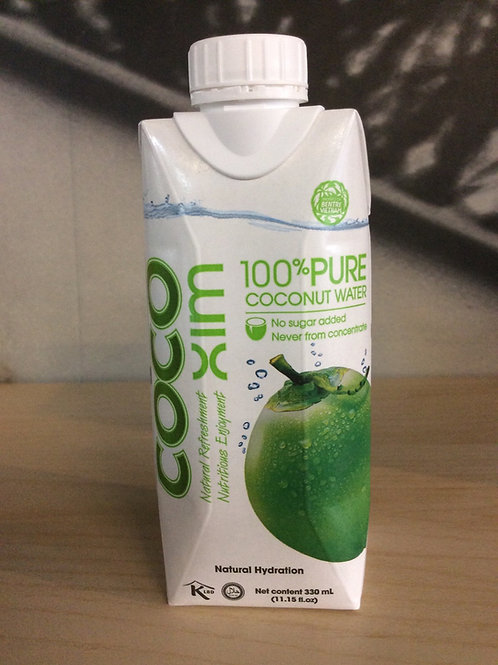 100% Pure Coconut Water 330ml