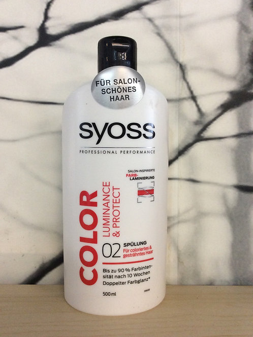 Syoss Color Luminance & protect Conditioner 500 ml
