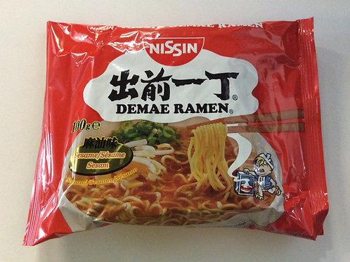Instant Noodles - Demae Ramen - Sesame - Nissin - 100g