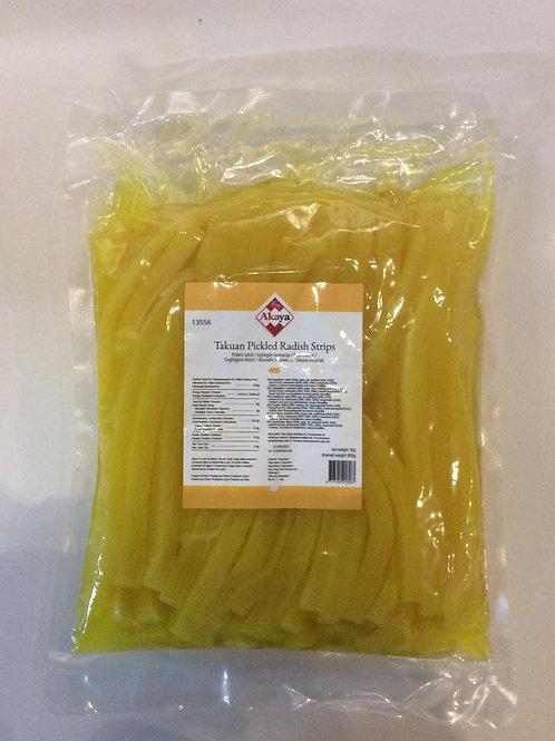 Pickled Radish Strips