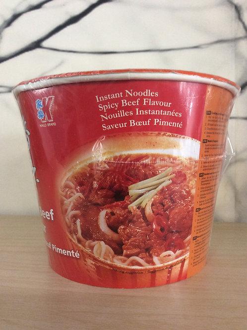 Kailo Instant Bowl Noodles - Spicy Beef Flavour 120 gram
