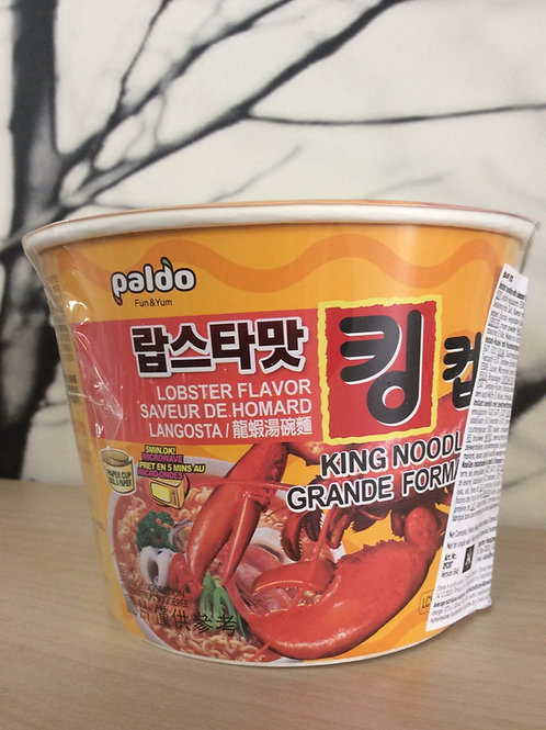 Paldo Instant Bowl Noodles - lobster flavour 110 gram